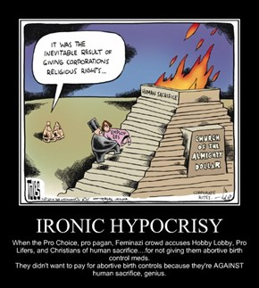 IRONIC HYPOCRISY