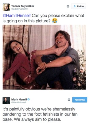 Mark Hamill Gives the People What They Want