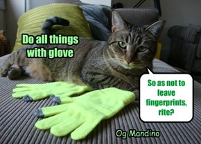 Do all things with glove