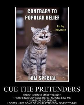 CUE THE PRETENDERS