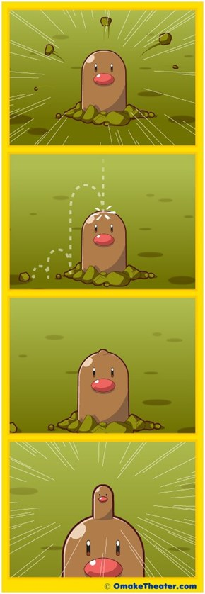 The Disturbed Process of a Hopefully Hypothetical Diglett Reproduction Process