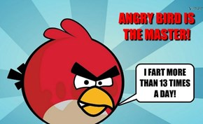ANGRY BIRD IS THE MASTER!