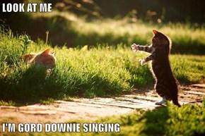 LOOK AT ME  I'M GORD DOWNIE SINGING
