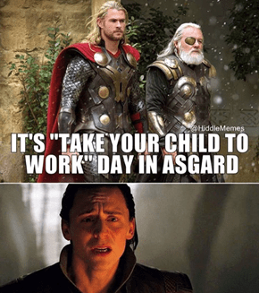Sad-Faced Loki's Low-Key Devastated