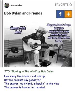"""Howling In The Wind"" (TTO ""Blowing In The Wind"" by Bob Dylan)"