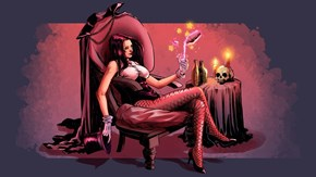 Zatanna just needs to chill after a hard day