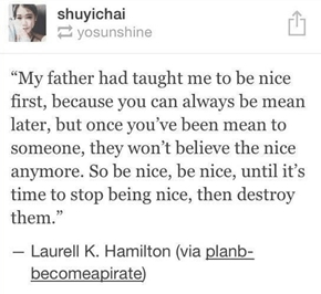 Wise words from Laura K. Hamilton