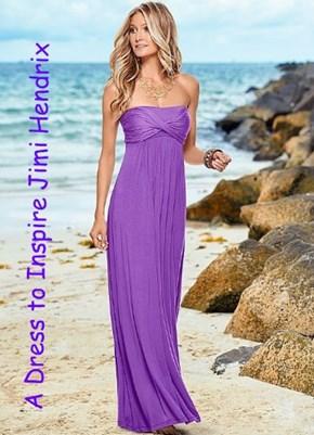 A Dress to Inspire Jimi Hendrix