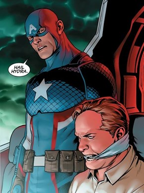 Marvel Unveils Captain America's True Allegiance to Hydra, and the Internet's Already Going Wild