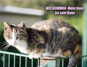 WILLKOMMEN -Mein Haus ist sein Haus
