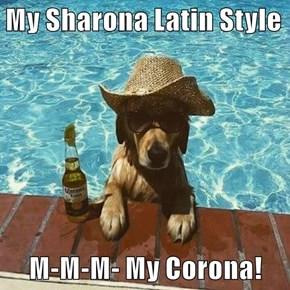 My Sharona Latin Style  M-M-M- My Corona!
