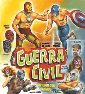 Marvel Wrestling Federation presents: