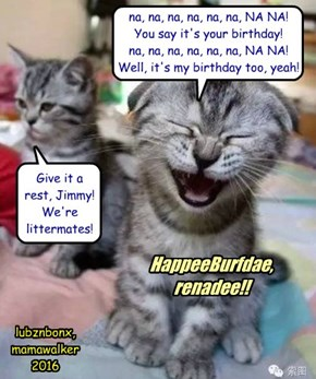 BurfdaeGreets for my burfdae Sis!!