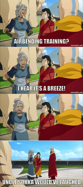 Uncle Sokka Would've Appreciated This!