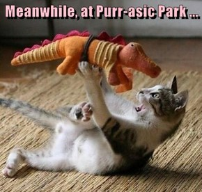 Meanwhile, at Purr-asic Park ...