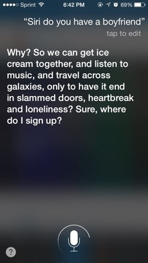 Wow, Siri, What Happened?