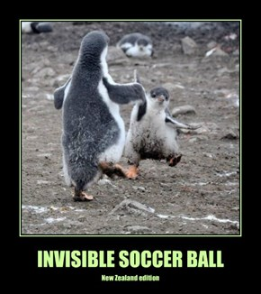 INVISIBLE SOCCER BALL