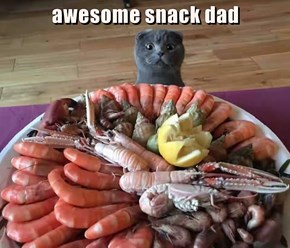 awesome snack dad