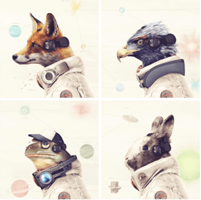 Artist Andy Winn Created Some Stunningly Realistic Portraits of the Star Fox Cast