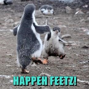 HAPPEH FEETZ!