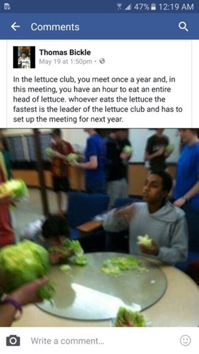 The Lettuce Club