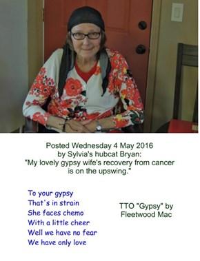 """Gypsy Sylvia"" (TTO ""Gypsy"" by Fleetwood Mac) (Wednesday 4 May 2016)"