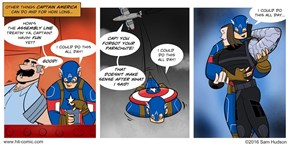Other Stuff Captain America Can Do All Day
