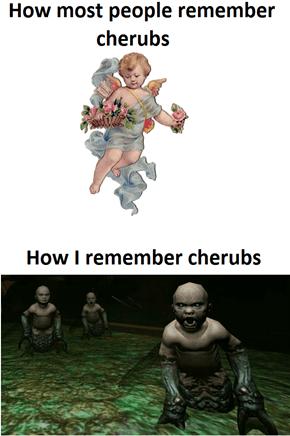 Cherubs bring Doom