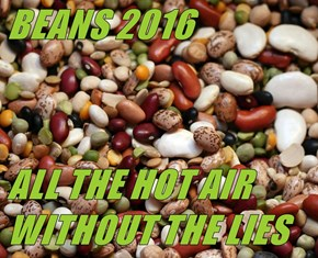 BEANS 2016  ALL THE HOT AIR WITHOUT THE LIES