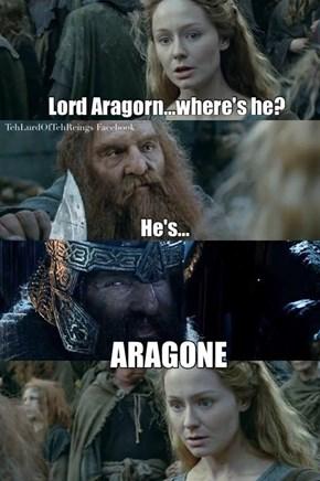 Oh Gimli a Break With the Puns Already
