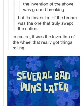These Puns are Historical