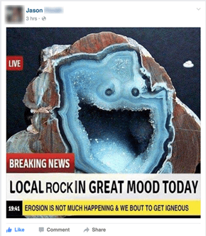 I Lava Bunch of Good Rock Puns