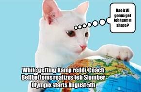 Slumber Olympix in Meow De Janeiro