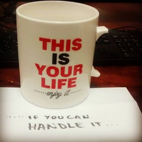 It's Hard to Hold Onto a Good Coffee Mug