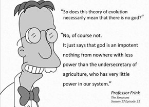Professor Frink Coming in Hot With That Harsh Shot of...Rationale?