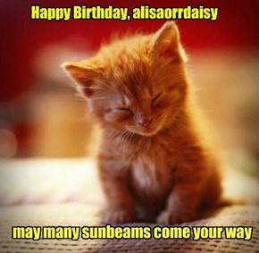 Happy Birthday, alisaorrdaisy