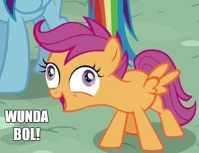 Uh Oh, Scootaloo's Overexcited Again...