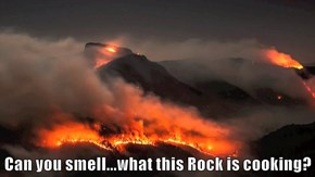 Can you smell...what this Rock is cooking?