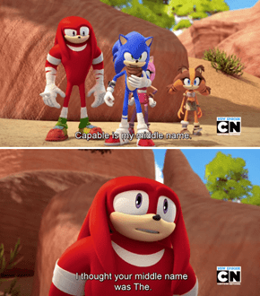 Knuckles Has Been Living a Lie