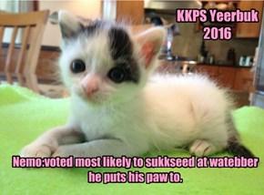 KKPS Yeerbuk 2016:Nemo