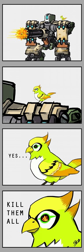 Anyone Else out There Share the Firmly Held Belief That Bastion's the Mere Puppet of the Bird?