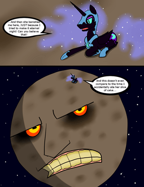 The Nightmare on the Moon