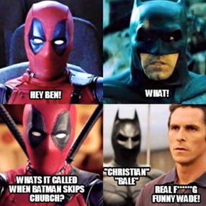 Deadpool Why You Do Dis?