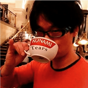 Norman Reedus Trolls the Living Sh*t out of Konami and Posts Picture of Hideo Kojima Drinking Mug of Konami's Tears