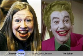 Chelsea Clinton Totally Looks Like The Joker