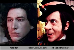 Kylo Ren Totally Looks Like The Child Catcher