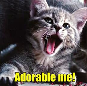 Adorable me!