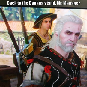 Back to the Banana stand, Mr. Manager