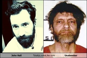 John Hall Totally Looks Like Unabomber