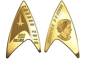 There's Now Legal Star Trek Currency in Canada, Cause Why Not, It's Canada?